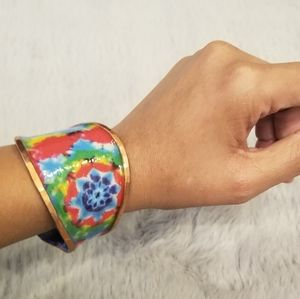 Aria- From Tie Dye Arm Cuff Collection